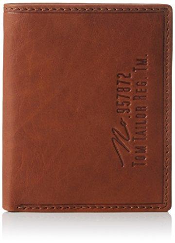 Tom Tailor Acc Herren Gary Geldbörsen, Braun (Cognac 22), 10x12x2 cm