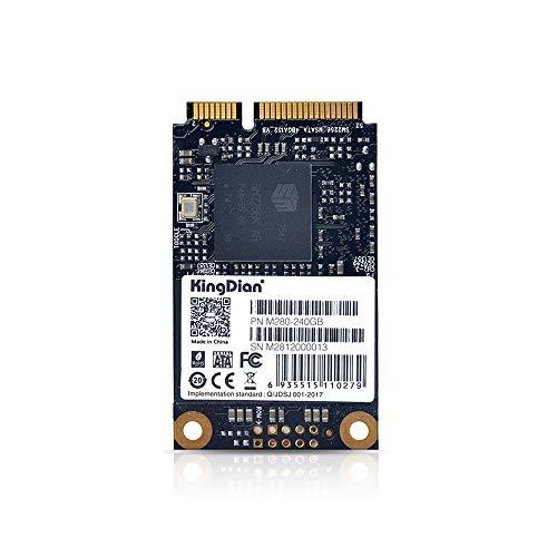 Docooler KingDian SSD M-SATA Interface M280 Disque SSD Interne pour Ordinateur de Bureau d'ordinateur Portable M280