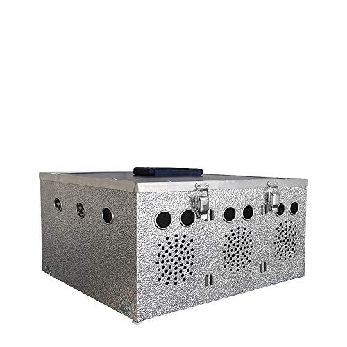 Breker Aluminium Transportkorb 3 Abteilungen