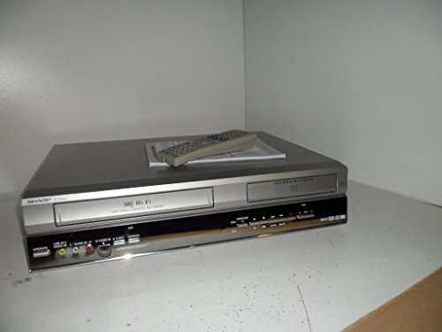 Sharp – DVRW250 Recorder DVD Combo VCR Player