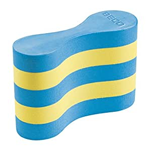 Beco Schwimmhilfe Pro Pull Buoy, Blau/Gelb, One Size