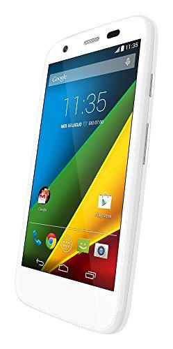Preisvergleich Produktbild Lenovo Moto G LTE unlocked Smartphone 11,4cm (4,5Zoll) weiß (Import Italien)