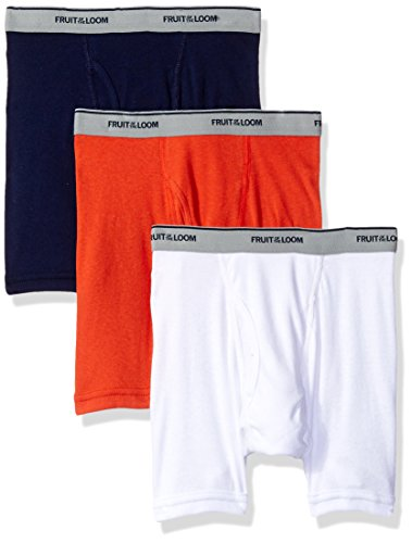 Fruit of the Loom Boys' Boxer Brief (Pack Of 3)
