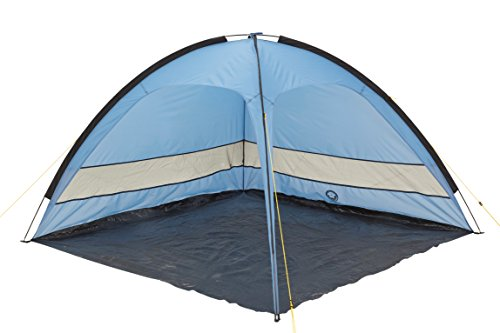 Grand Canyon Tampa - Strandmuschel, UV40-Schutz, Sonnen- und Windschutz, blau/schwarz, 302206