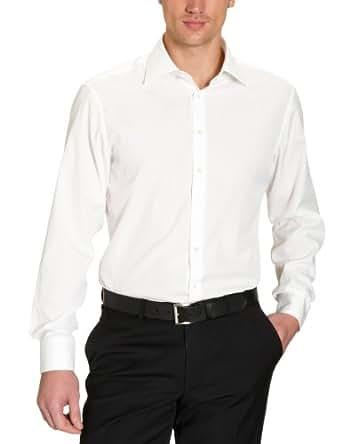 Jacques Britt Herren Businesshemd Regular Fit 20.969313 Ben EL, Gr. 38 (S), Elfenbein (02 - creme)