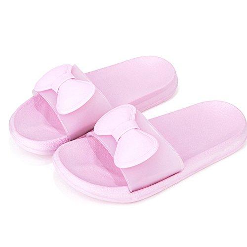 WILLIAM&KATE Pantofole da Donna e da Uomo in Pantofole Antiscivolo per L'Estate Pantofole da Bagno per Il Piscina Spiaggia Spa Hotel Rosa
