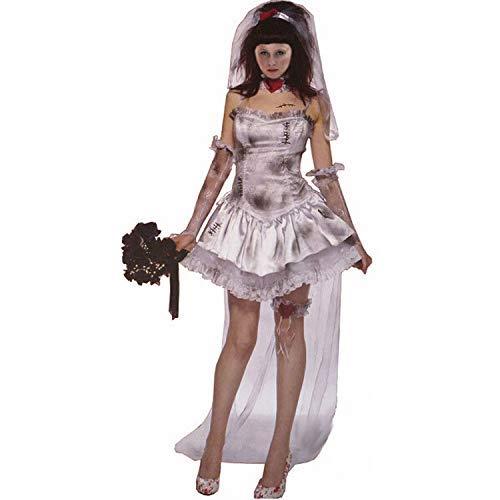 27f9dda524e9 Costume Cosplay, Lady Costume di Halloween Costume Sexy Strega Fantasma  Uniforme Abito da Sposa Demone