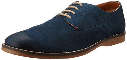 Ruosh Mens Blue Leather Boots - 11 UK/India (45 EU)