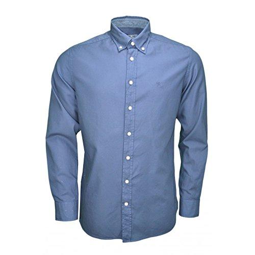 hackett-slim-fit-oxford-shirt-dark-blue-xl