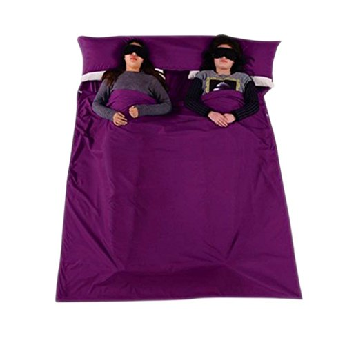 FakeFace algodón calidad doble saco dormir Liner