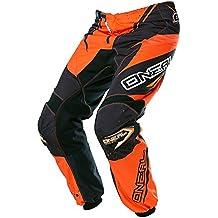 O' Neal Element MX pantaloni Racewear Nero Arancione Motocross Enduro Offroad Quad, 0128–4