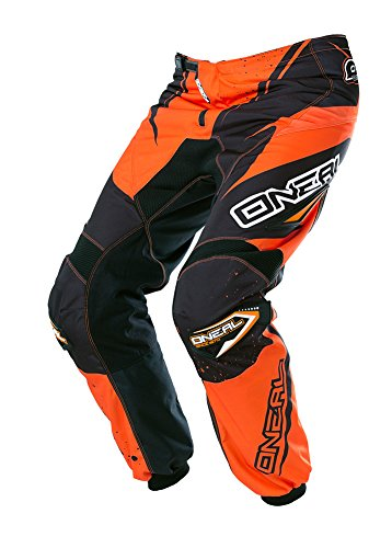O'Neal Element Racewear Kinder Hose Schwarz Orange Youth Motocross MX DH Offroad, 0128-42, Größe 28 -