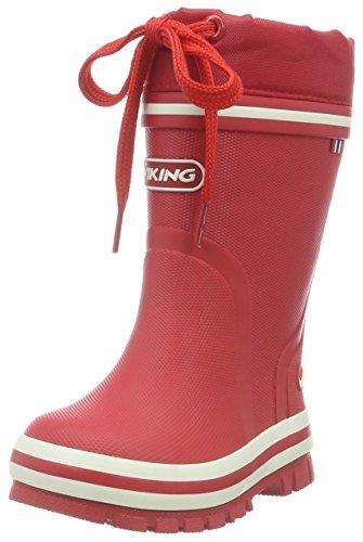 Viking Unisex-Kinder New Splash Winter Gummistiefel Rot (Red 10)
