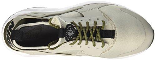 Nike Air Huarache Run Ultra, Chaussures de Running Homme Multicolore (Pale Grey/black/cargo Khaki/cool Grey)
