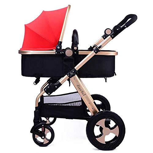 Olydmsky Stroller,Senior-Kinderwagen Sitz liegende hohe Landschaft Baby Kinderwagen Kinder Hand Push...