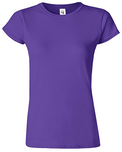GILDANDamen T-Shirt Rosa - Violett