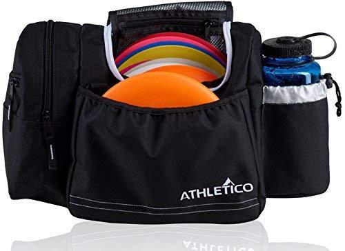 Athletico Disc Golf Bag-Tasche für Frisbee Golf-10-14Discs, Wasser Flasche, und Zubehör