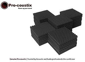 24x Pro-coustix Sonarflex acoustic foam sound treatment studio foam tiles
