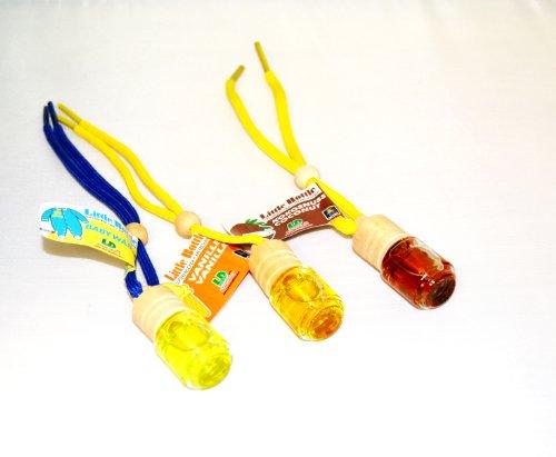 Mix di frutta Trio 3profumata elegante biancheria da 1x Baby flakons Little Bottle a 5ml, profumate al cocco, vaniglia auto profumo
