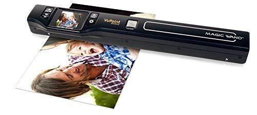 VUPOINT Magic Wand PDS-ST470-VP - mobiler Scanner + MicroSD-Speicherkarte 8 GB