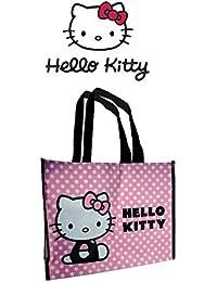 (Hello Kitty) Bag Large Polka Pink