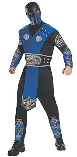 Rubie 's Offizielles Mortal Kombat Sub-Zero, Erwachsene (Sub Zero Kostüm Für Erwachsene)