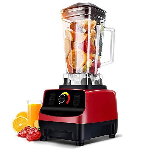 DLINMEI Smoothies Mixer, intelligente automatische Sojamilch Brechmaschine, Saft Glättmaschinen Eismaschine, 2L, Schwarz