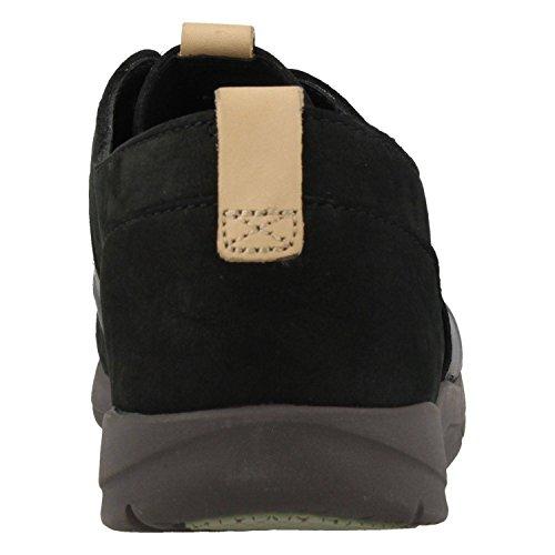 Clarks Damen Tri Caitlin Sneaker Schwarz (Black Combi)