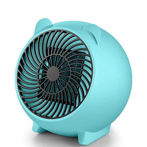 Mini Heizlüfter Keramik Energiesparend Elektroheizer 250W, 2S Schnellheitzer Abschaltautomatik Überhitzungschutz Für Babyzimmer Hause Büro Heizlüfter
