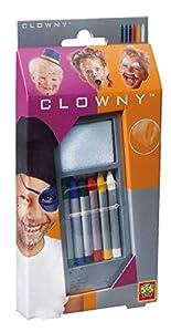 SES Clowny - Ceras para la Cara, Color Multicolor 09006