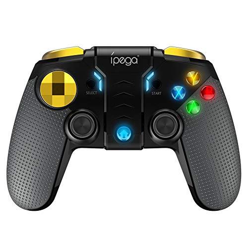 Vibrationsgriff für Bluetooth-Spiele, kabelloser Joystick, beleuchtete Taste Neuer kabelloser Gamecontroller für Android / IOS und PC Compactflash-bluetooth