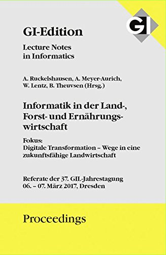 "GI Edition Proceedings Band 272 ""Digital Enterprise Computing (DEC 2017)"": 11.-12. Juli 2017 Böblingen, Germany"