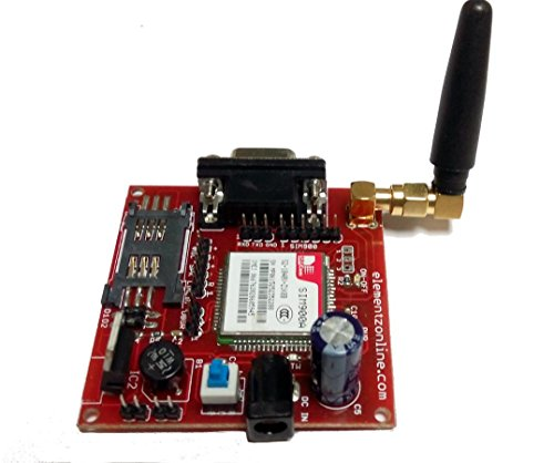 Elementz Engineers Guild Pvt Ltd SIM900A_GSM_MODEM Sim900A Gsm Modem Module with Sma Antenna