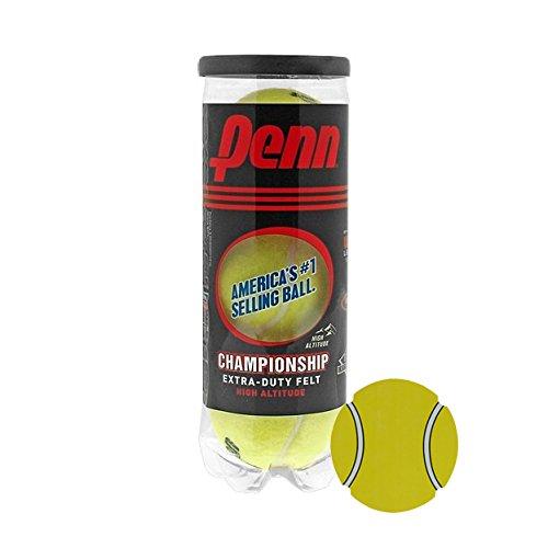 InPrimeTime Penn Championship Tennisbälle, Acer 's Dutzend: 13Dosen (39Bälle) Super Value Bundle mit Exklusiven Magnet, High Altitude -