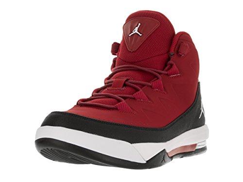 sports shoes b9cdb 8f578 Nike Jordan Air Deluxe, Chaussures De Fitness Pour Homme Rouge   Blanc    Noir (