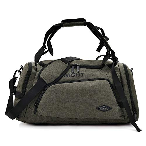 Huanxin Sport-Sporttasche, 35 l wasserdichte, Faltbare Taschen, mit Schuhfach, für Unisex Weekend Daypack Große Reisetasche,d