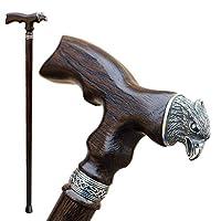 عصا خشبية فاخرة للرجال من أستيروم - النسر - عصا مشي خشبية رائعة مخصصة