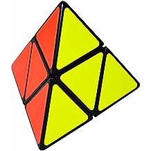 Pyraminx 2x2 Puzzle Cubo, LSMY Toy Negro
