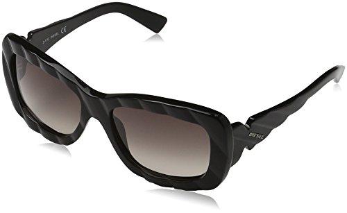 Diesel Unisex Sonnenbrille Dl0006 Schwarz (Schwarz 5601B)