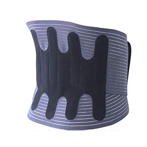 Sxuefang Corrector de Postura,Protector CinturóN Soporte Lumbar Autocalentable DescompresióN Comfort Fit CinturóN Transpirable CáLido