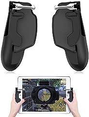 Mobile Game Controller,Dokfin Universal High Sensitivity Mobile Game Joystick with Soft Sponge Protection, Com
