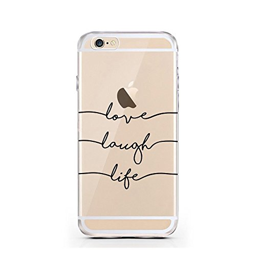 iPhone 6 6S cas par licaso® pour le modèle Be a Unicorn Licorne Conte de Fées TPU 6 Apple iPhone 6S silicone ultra-mince Protégez votre iPhone 6 est élégant et couverture voiture cadeau Love Laugh Life