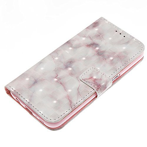 Marmor Stein Grain Texure Muster PU Ledertasche Cover, Retro Bookstyle Flip Stand Case mit Magnetverschluss & Card Slots & Lanyard für Samsung Galaxy S7 ( Color : C ) D