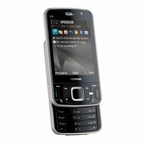 Occasion, Nokia N96Noir-Smartphone (hSCSD coulissante, control, d'occasion  Livré partout en Belgique