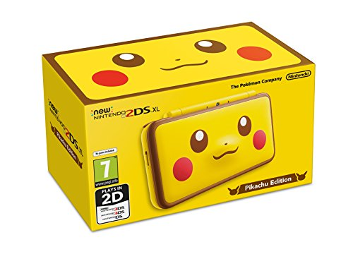 New Nintendo 2DS XL Pikachu Edition - Limited Edition (3ds Xl Konsole Limited Edition)