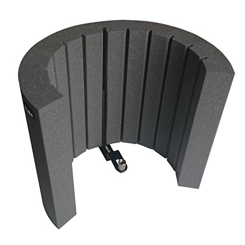 afms-pro-acoustic-foam-microphone-screen-portable-vocal-booth-reflection-filter