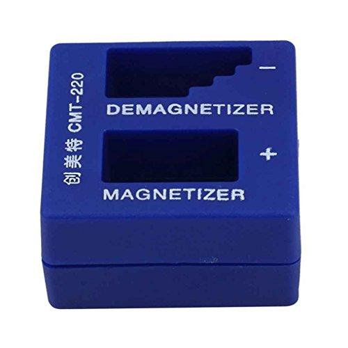 2 in 1 Magnetiseur Entmagnetisierer tragbarer elektrischer/manueller Schraubendreher Magnetic Pick Up Werkzeuge Mengonee
