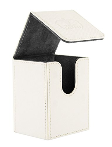 Ultimate Guard Flip Deck Case 80+ Standard Size Xenoskin White Ultimate Guard