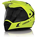 Acerbis Active Casque de motard enduro quad aTV XL GIALLO FLUO - YELLOW FLUO