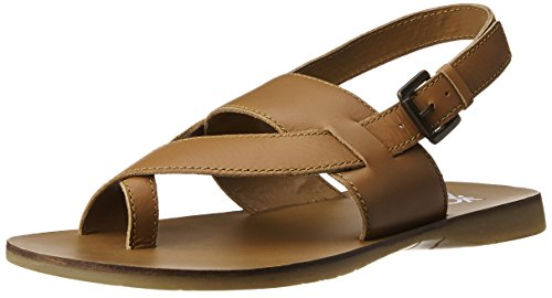 07048d28d United Colors of Benetton Men s Brown901 Leather Sandals and Floaters - 6 UK India  (